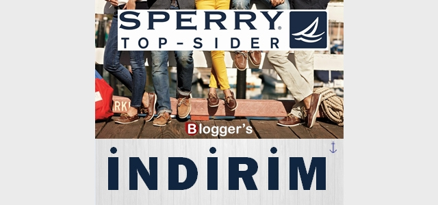 SPERRY TOP-SIDER İNDİRİM